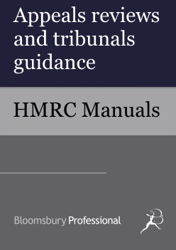 Appeals reviews and tribunals guidance