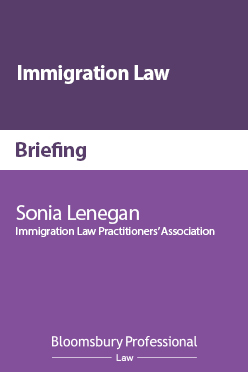 Bloomsbury Immigration Law Briefing