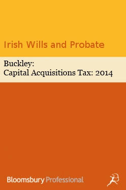 Buckley: Capital Acquisitions Tax: 2017