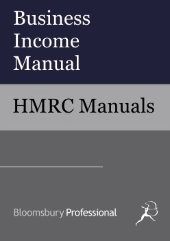 Business Income Manual