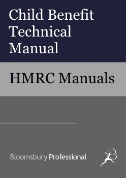 Child Benefit Technical Manual