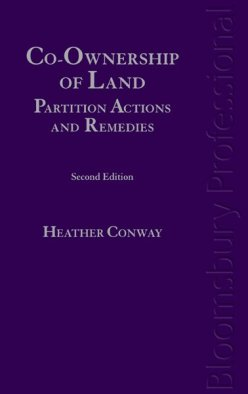 Co-Ownership of Land: Partition Actions and Remedies