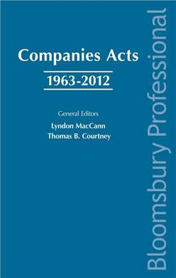 Companies Acts 1963-2012