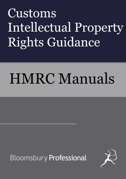 Customs Intellectual Property Rights Guidance