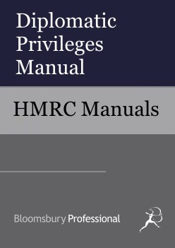 Diplomatic Privileges Manual