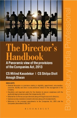 The Director's Handbook: A Panoramic view of the provisions of the Companies Act, 2013