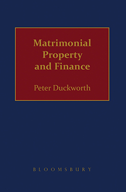 Duckworth: Matrimonial Property and Finance