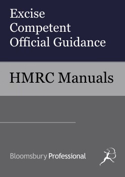 Excise Competent Official Guidance