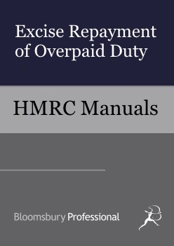 Excise Repayment of Overpaid Duty