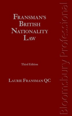 Fransman's British Nationality Law