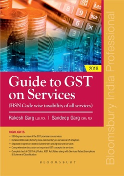Guide to GST on Services: (HSN Code wise taxability of all services)