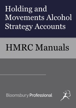 Holding and Movements Alcohol Strategy Accounts