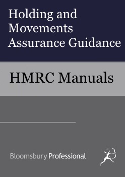 Holding and Movements Assurance Guidance
