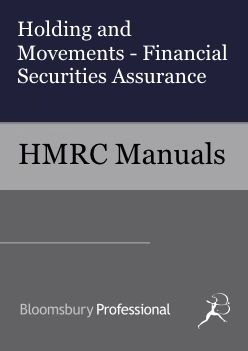 Holding and Movements - Financial Securities Assurance