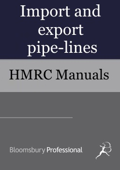 Import and export pipe-lines