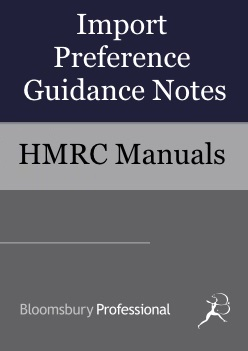 Import Preference Guidance Notes