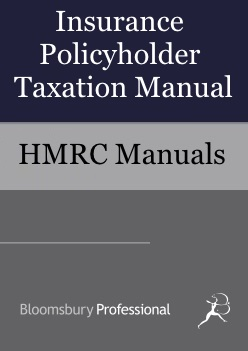 Insurance Policyholder Taxation Manual
