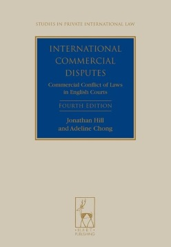 International Commercial Disputes: Commercial Conflict of Laws in English Courts