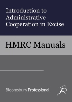 Introduction to Administrative Cooperation in Excise