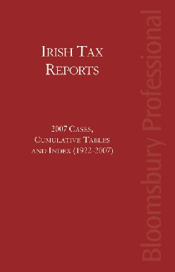 Irish Tax Reports 2007