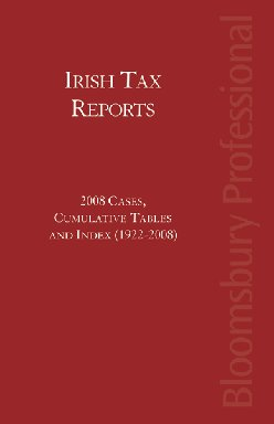 Irish Tax Reports 2008