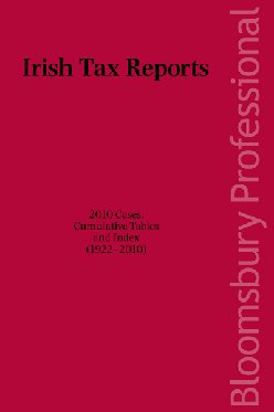 Irish Tax Reports 2010