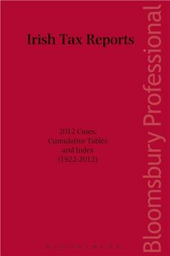 Irish Tax Reports 2012