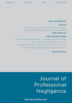 Journal of Professional Negligence