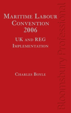 Maritime Labour Convention, 2006 – UK and REG Implementation