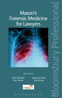 Mason's Forensic Medicine for Lawyers