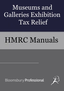 Museums and Galleries Exhibition Tax Relief
