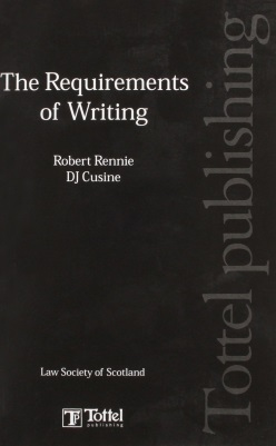 The Requirements of Writing