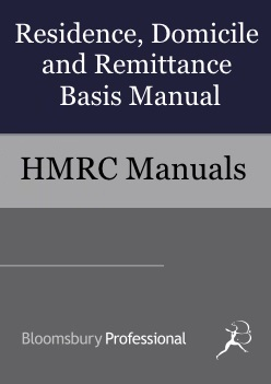 Residence, Domicile and Remittance Basis Manual