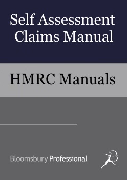 Self Assessment Claims Manual