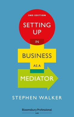 Setting Up in Business as a Mediator