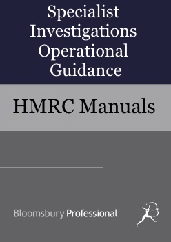 Specialist Investigations Operational Guidance
