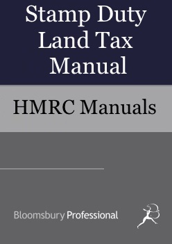 Stamp Duty Land Tax Manual