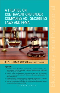 Treatise on contraventions under Companies Act, Securities Laws and FEMA