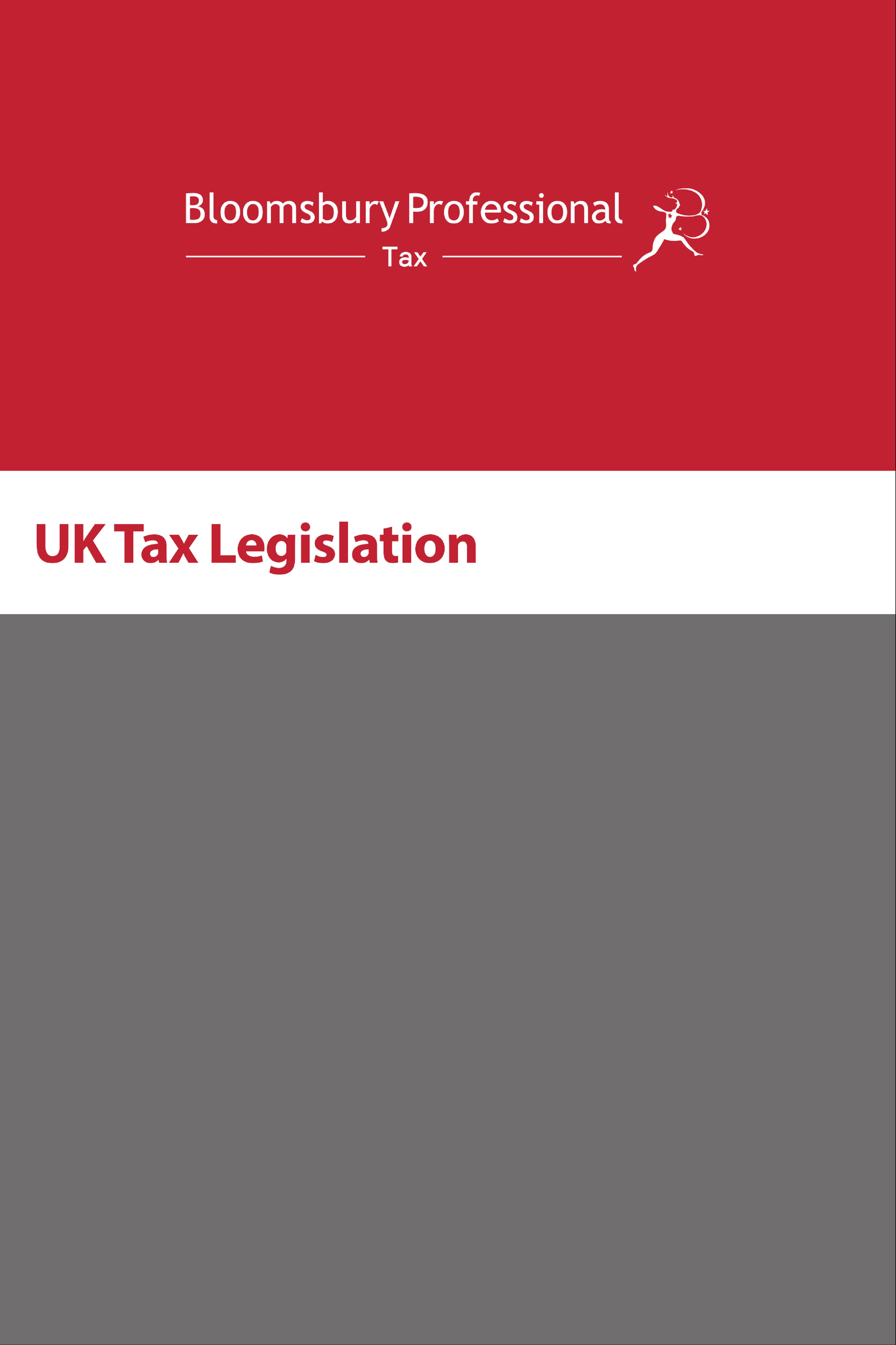 UK Tax Legislation