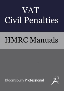 VAT Civil Penalties