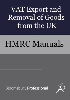 VAT Export and Removal of Goods from the UK