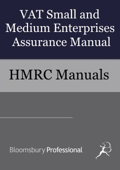 VAT Small and Medium Enterprises Assurance Manual