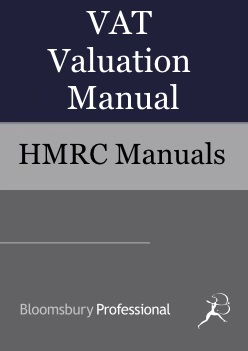 VAT Valuation Manual